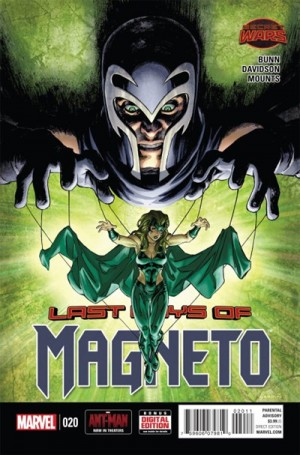 MAGNETO #20 review spoilers