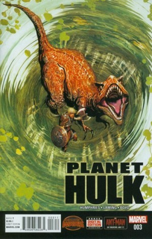 PLANET HULK #3 review spoilers 1