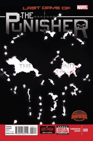 PUNISHER #20 review spoilers