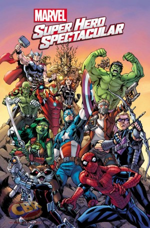 SDCC 2015 Marvel Super Hero Spectacular