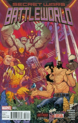 SECRET WARS - BATTLEWORLD #3 review spoilers 1