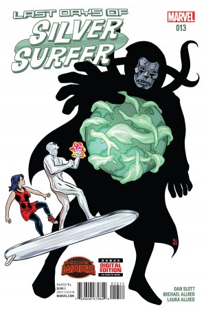 SILVER SURFER #13 review spoilers 1