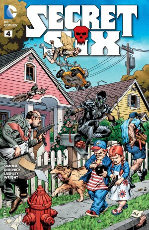Secret Six #4 DC You spoilers 1