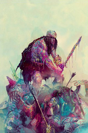 WEIRDWORLD #5 virgin cover