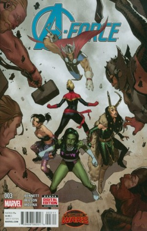 A-FORCE #3 review spoilers 1