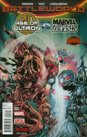 AGE of ULTRON vs. MARVEL ZOMBIES #2 review spoilers 1