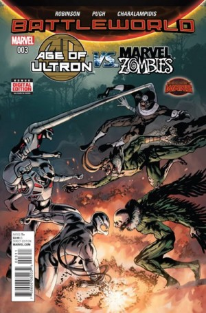 AGE of ULTRON vs. MARVEL ZOMBIES #3 review spoilers 1