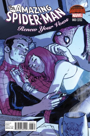 AMAZING SPIDER-MAN -- RENEW YOUR VOWS #3 review spoilers 2