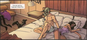 ANT-MAN LAST DAYS pg. 22 panel 1 morning after