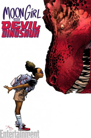 All New All Different Marvel Comics Moon Girl and Devil Dinosaur #1