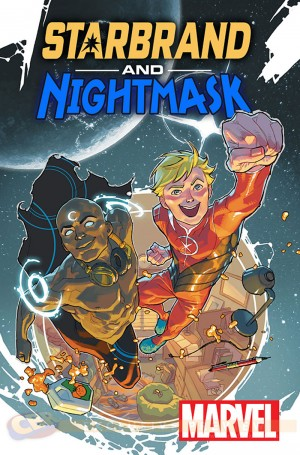 All New All Different Marvel Comics Starbrand and Nightmask #1