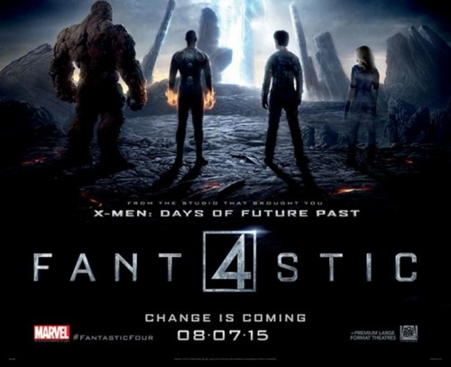 Fantastic Four 2014 Movie poster banner 2