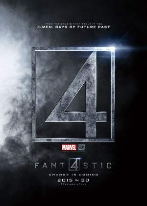 Fantastic Four 2015 film poster logo icon