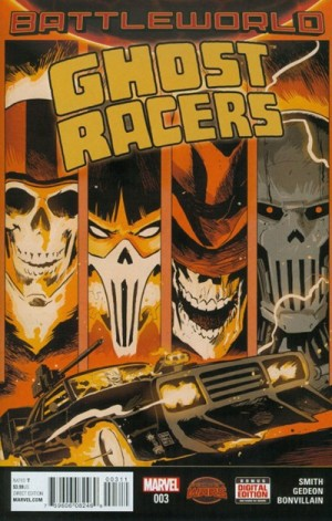 GHOST RACERS #3 review spoilers 1