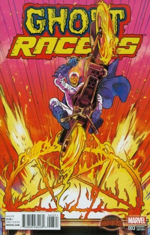 GHOST RACERS #3 review spoilers 2