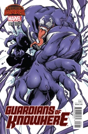 GUARDIANS of KNOWHERE #3 review spoilers 3