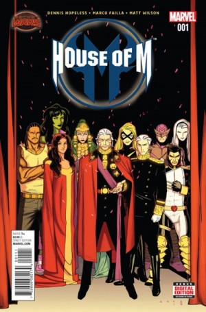 HOUSE of M #1 review spoilers 1