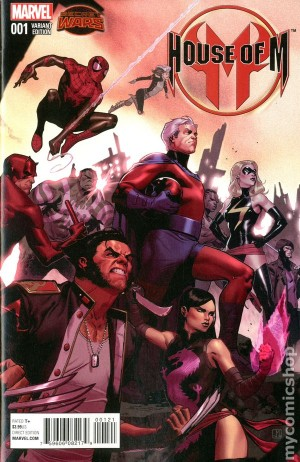 HOUSE of M #1 review spoilers 2
