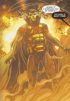 JUSTICE LEAGUE #43 pg. 13 My name is Mr. Miracle