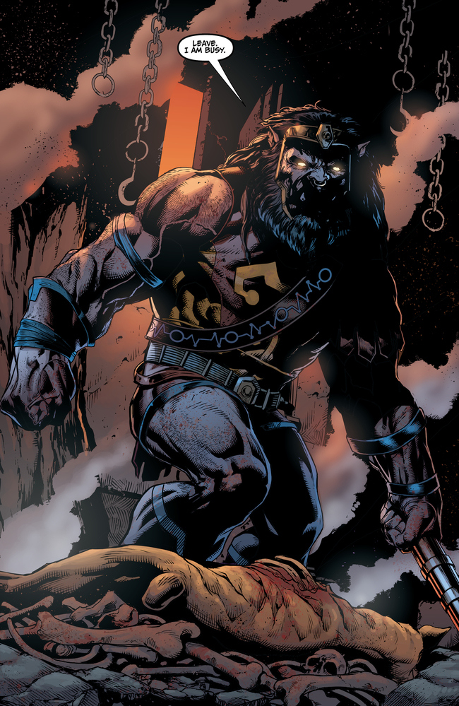 JUSTICE LEAGUE #43 pg. 2 Kalibak