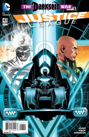 JUSTICE LEAGUE #43 review spoilers 1