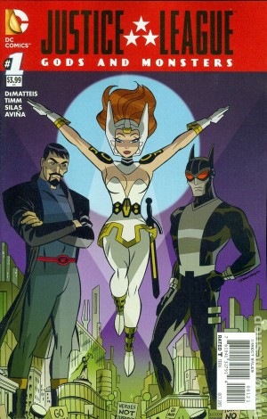 JUSTICE LEAGUE - GODS & MONSTERS #1 review spoilers 2