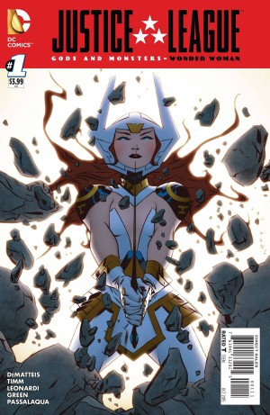 Justice League Gods and Monsters Wonder Woman 1