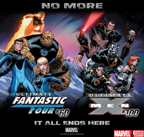 Ultimate Comics Fantastic Four end