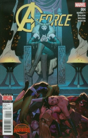 A-FORCE #4 review spoilers 1