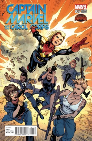 CAPTAIN MARVEL and the CAROL CORPS #3 review spoilers 2