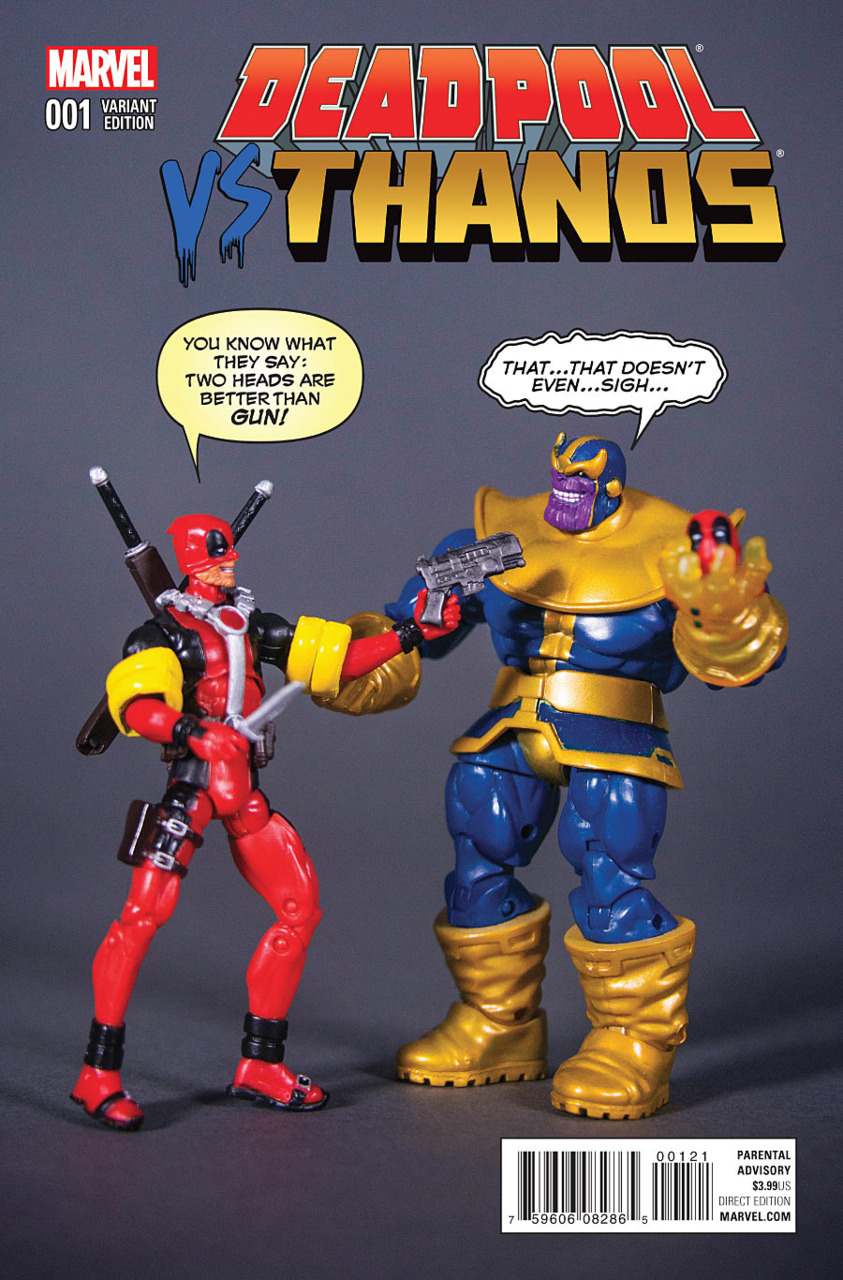 Marvel Comics Review Spoilers Deadpool Vs Thanos 1 Of 4 By