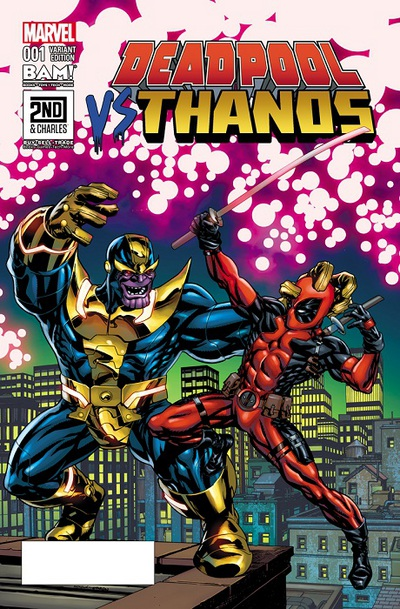 marvel comics review amp spoilers deadpool vs thanos 1