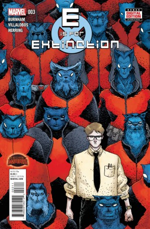 E is for EXTINCTION #3 review spoilers 1