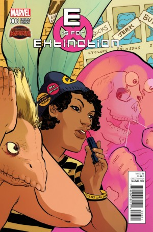 E is for EXTINCTION #3 review spoilers 2