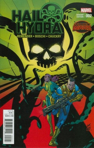 HAIL HYDRA #2 review spoilers 2