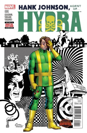 HANK JOHNSON, AGENT of HYDRA review spoilers 1