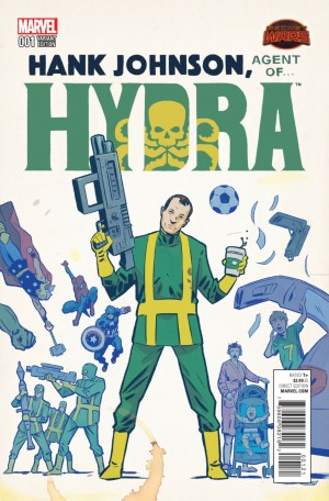 HANK JOHNSON, AGENT of HYDRA review spoilers 2