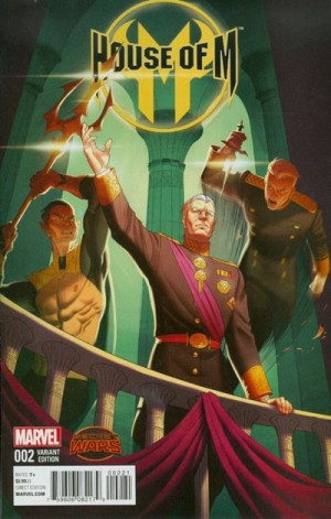HOUSE of M #2 review spoilers 2