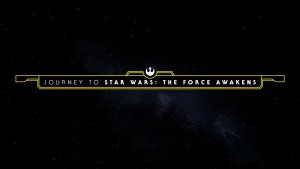 JOURNEY to STAR WARS - the FORCE AWAKENS logo