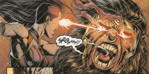 JUSTICE LEAGUE #44 not seeing eyes to eyes