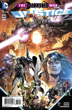 JUSTICE LEAGUE #44 review spoilers 1