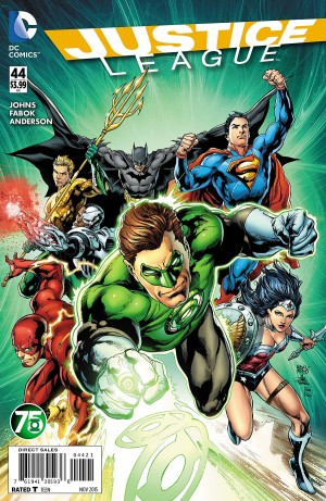 JUSTICE LEAGUE #44 review spoilers 2