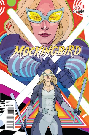 MOCKINGBIRD - S.H.I.E.L.D. 50TH ANNIVERSARY cover B