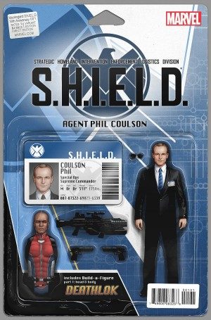 MOCKINGBIRD - S.H.I.E.L.D. 50TH ANNIVERSARY cover C