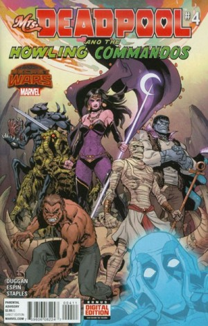 MRS. DEADPOOL and the HOWLING COMMANDOS #4 review spoilers 1