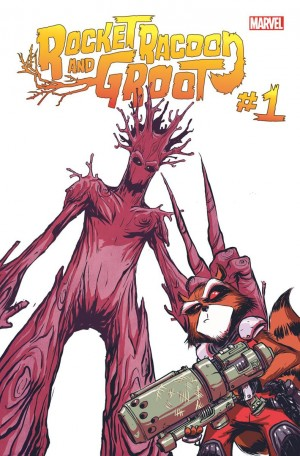 Rocket Racoon and Groot #1