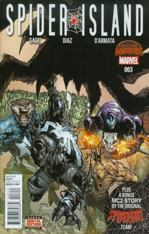 SPIDER-ISLAND #3 review spoilers 1