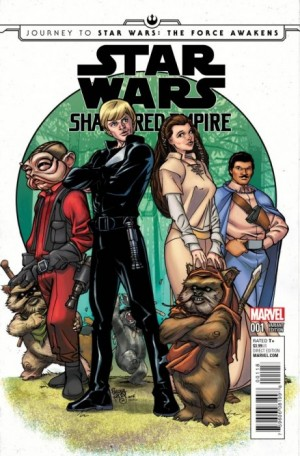 STAR WARS - SHATTERED EMPIRE #1 Baltimore Diamond RS excl cvr