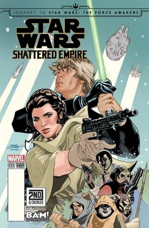 STAR WARS - SHATTERED EMPIRE #1 Books-a-Million excl cvr