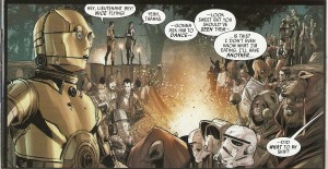 STAR WARS - SHATTERED EMPIRE #1 CP3O & Ewoks!